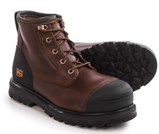 NEW TIMBERLAND PRO WATERPROOF WORK BOOTS MENS 8 XW WIDE A11SM CAPROCK