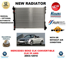 FOR MERCEDES BENZ CLK CONVERTIBLE 55 AMG 2003-2010 NEW RADIATOR ** OE QUALITY **