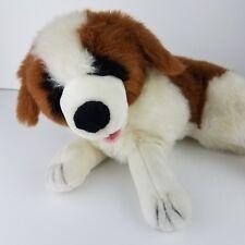 """Kelly Toy 16"""" Shaggy Kennel Klub USA St. Bernard Dog Plush Stuffed Animal VTG"""