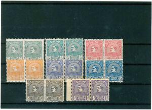 Serbia 1880, King Milan complete set, stamps in pair, MNH