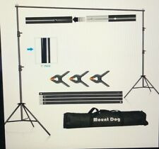 Photo Video Studio Photography Background Backdrop Support System Stand Kit