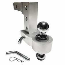 Professional EZ Travel Collection Dual Ball Aluminum Adjustable Drop Hitch