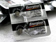 Energizer 377/376 Silver Oxide Batteries (Sr626W, Sr626Sw), 2-Pk, Free Shipping!