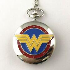 Montre de poche symbole Wonder Woman montre wonder woman pocket watch