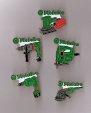 lot de 5 pin's outillage / Metabo (perceuse, ponceuse...)