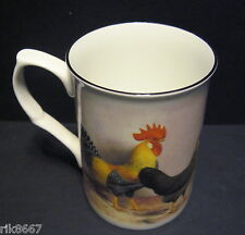 1 Rooster cockerel Fine Bone China Mug  Beaker
