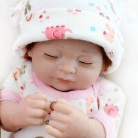 Reborn Babies Twins Boy Girl Vinyl Silicone Lifelike Newborn Dolls Kids Toy gift