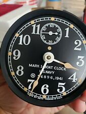 U.S Navy MARK 1  Deck Clock  1941 Mk1