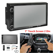 "7"" Touch Screen 2 Din Car In-Dash Stereo Radio Multimedia MP5 Player Mirror Link"