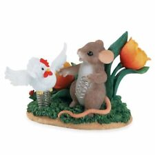 """Charming Tails by Enesco"""" You Have Me Feeling Like A Spring Chicken"""" 88/138 NIB"""