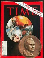 TIME MAGAZINE - Jan 24 1969 - VIETNAM WAR / Richard Nixon / Healing the Nation