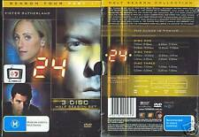 24 SEASON FOUR PART 1 KEIFER SUTHERLAND NEW 3 DVD SET