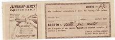 COUPON BUONO SCONTO EVERSHARP - SCHICK INJECTOR RAZOR RASOIO MILANO 3-383