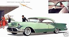 1956 Oldsmobile NINETY EIGHT Deluxe HOLIDAY, Tutone GREEN,  Refrigerator Magnet