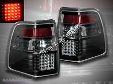07-11 Ford Expedition LED Tail Lights Black Brake Lamps Assembly LH+RH