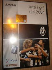 DVD TODOS METAS DE 2004 FC JUVENTUS JUVE SKY DEPORTE OBJETIVOS