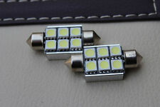 4x License plate Light 6418 Error Free 6 SMD LED W211 Mercedes E320 E350 E500
