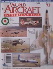 World Aircraft Information Files Issue 73 BA Sea Harrier cutaway & poster