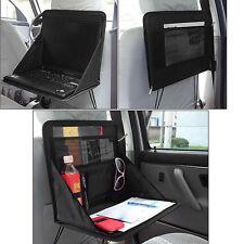 Folding Table Car Back Seat Storage Tidy Organiser DVD Laptop Holder Travel Tray