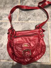 Fat Face Red Crossbody/messenger Bag