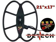 FREE SHIPPING Detech SEF 21x17 search coil for Minelab Safari