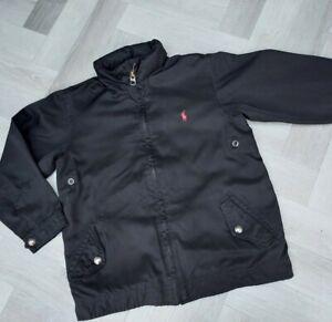 GEN Ralph Lauren boys Light Weight jacket / coat. Size 7 (age 6-7 YRS )BLACK