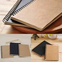 Watercolor Paper Sketch Book Drawing Art Sketchbook School Pad Notebook 50 Sheet