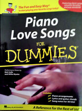 PIANO LOVE SONGS FOR DUMMIES - 192 PAGE PAPERBACK - 2010