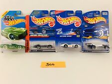 Lot of 4 Hotwheels Second Wind,Krazy 8's,Turbolence,Hypertru ck #300
