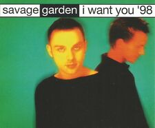 Darren Hayes SAVAGE GARDEN I want you EDIT & MIX & KARAOKE CD single USA Seller