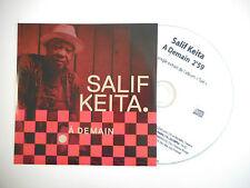 SALIF KEITA : A DEMAIN ♦ CD SINGLE PORT GRATUIT ♦