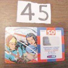 ricarica TIM Flash Gordon Dale 50000 lire dicembre 2001