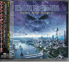 "IRON MAIDEN ""BRAVE NEW WORLD"" CD, 1st JAPAN PRESS 2000"