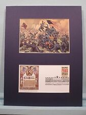 Assault on Fort Wagner by the 54th Massachusetts Regiment & First Day Cover