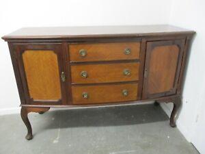 Vintage Sideboard, Chest of Drawers on Legs, Veneer, 152cmW x 100cmH