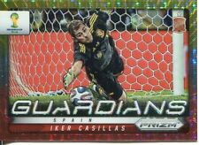 Panini Prizm Copa del Mundo 2014 guardianes Iker Casillas Pulsar Prizm #21