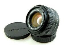 Pentacon PRAKTICAR 50mm 1.8 MC prime lens, for Praktica B-mount film cameras