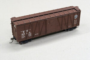 Accurail HO Southern Pacific Wood Boxcar - custom detailed & decaled