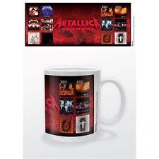 Ufficiale METALLICA-ALBUM-Ceramica Tazza Boxed