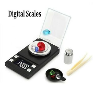 0.001g-50g Pocket Digital Scales Jewellery Gold Weighing Durable High Quality