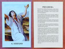 Santino Holy Card: S. Santo Stefano Protomartire