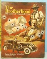 The Brotherhood The Game of Organized Crime GDW 1983 Unpunched