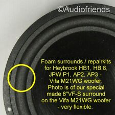 JPW P1, AP2, AP3 / VIFA M21WG-09-08 > special made surrounds >>THE RIGHT ONE<<
