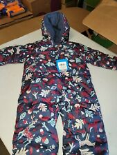 COLUMBIA Down Filled SNUGGLY BUNNY SNOWSUIT BUNTING Fleece Lined! 6-12  months