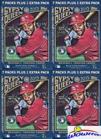 (4) 2015 Topps Gypsy Queen Baseball Factory Sealed Blaster Box- Rare!