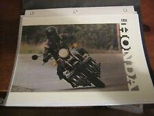 "HONDA CBX ""INFO PAK"" Brochures/ Magazine TEST & Articles-In Folder-26 Pages"