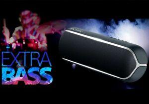 NEW Sony SRS-XB22 Portable Wireless Bluetooth Speaker - Black