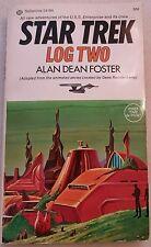 Star Trek Log Two by Alan Dean Foster 1974 paperback book