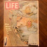 LIFE Magazine ~ April 18 1969~ Mae West~ Hijacked to Havana~ Lacrosse ~ Ads (20)