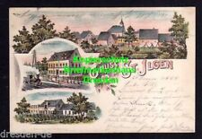 116883 AK Sankt Ilgen Litho 1898 Bahnhof Restauration Weissgerberei